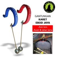 harga Gantungan Karet Ebod Jaya Gantungan Anti Slip Sangkar Burung Ja18 Tokopedia.com