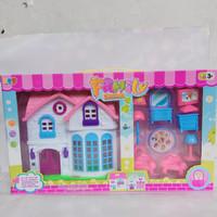 mainan rumah rumahan happy house , play house happy cabin toys
