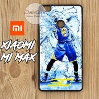 Casing Xiaomi Mi Max Stephen Curry Splash Water Hard Case Custom
