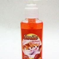 Shampoo Shampo Anti Jamur & Kutu Kucing & Anjing Smile 100 ml