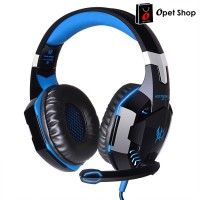 Harga kotion each g2000 gaming headset super bass led light hitam   Hargalu.com