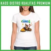 Kaos Wanita Game-The Sims 1 WNT-AFS84