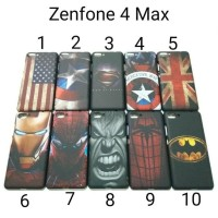 FLASH SALE Case Asus Zenfone 4 Max ZC554KL Hardcase Karakter Zenfone