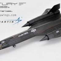 "CENTURYWINGS 1/72 SR-71 Blackbird U.S.A.F 9TH SRW61-7972 1975 ""Charlie"