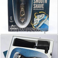 LIMITED EDITION Jual KEMEI KM 5880 WATERPROOF RECHARGE Shaver Alat C