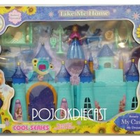 Rumah My Castle Frozen Besar Mainan Anak Cewek Perempuan