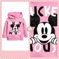 JAKET/New Arrival H&M Sweetshirt - Sweater / Hoodie/ Girl Mickey Mouse