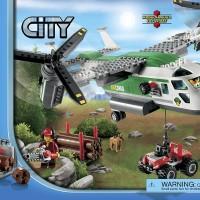60021 Lego City - Cargo Heliplane