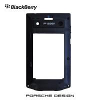 (Sale) Tulang Belakang Blackberry Porsche Design P'9981 (Hitam)
