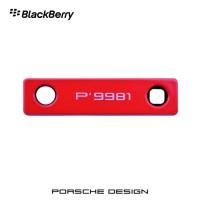 Blackberry Porsche Design P'9981 Decorative Camera Lens Bezel - Red