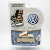 Mainan Diecast Cars Greenlight V Dub 1970 VW Type 2 Campmobile Savann