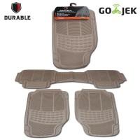 ROLL ROYCE GHOST TH 13 DURABLE Karpet Karet PVC 3 Pcs Comfortable Un