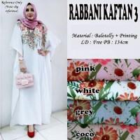 Dress Wanita Panjang Baju Muslim Rabbani Kaftan Balotelly
