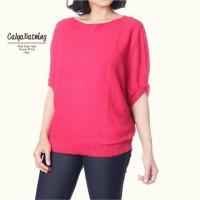 Cayla Batwing / Rajutan Murah / Rajut Batwing