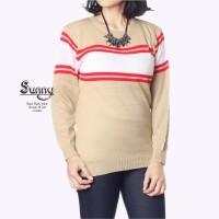 Sunny Cream / Sweater Rajut / Rajut Murah / Rajut Murah Bdg
