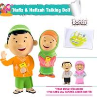 Jual Hafiz & Hafizah Talking Doll + Hafiz/Hafizah Junior Dokter Murah