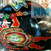 Helm AGV K3 Classic Sun and Moon Black