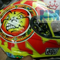 Helm AGV K3 Classic Sun and Moon 1996