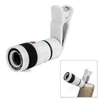 harga 8x Zoom Lensa Telephoto Dengan Klip Handphone Universal Teleskop Lens Tokopedia.com