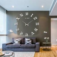 Jual Jam dinding 3D modern ukuran besar untuk dekorasi hiasan ruangan WLCS1 Murah