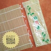 Bamboo Mat | Bambu Penggulung Sushi/ Kimbab Sederhana