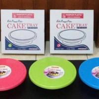 Cake Tray Meja Putar Maspion / Lazy Susan / Baki Kue / Nampan Cake
