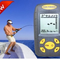 fishfinder pendeteksi ikan ultrasonic sonar fish finder portable