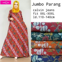 jumbo parang gamis batik by Unique