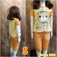 BELLA PLUS Babydoll anak S premium pretty cat