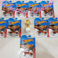 Hot Wheels 68 Chevy Nova (HW Flames) - Orange