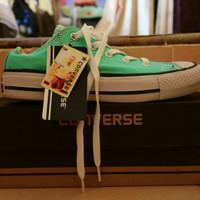 sepatu converse all star warna hijau