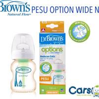 Dr Brown PESU Options Wide Neck Bottle 150ml / Botol Susu Dr Browns