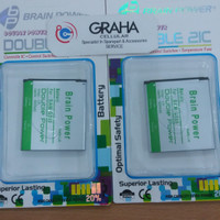 baterai samsung galaxy core 2 / g355 double ic brain power