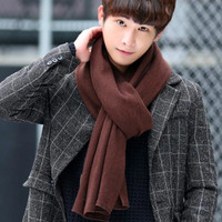WINTER SYAL / SCARF WARM [ TEBAL ] FOR MEN [ COWO ]