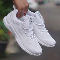 sepatu casual running adidas alphabounce full putih cewek woman wanita