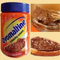 Selai Coklat Ovomaltine Ovaltine Crunchy Cream Spread Selai Cokelat