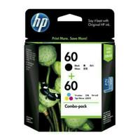 hp 60combo black/calor 100% original For Printer :HP Deskjet D1660, D2