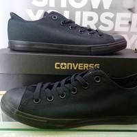 Sepatu Original Converse Sneakers Hitam polos