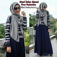 maxi ayu set 3in1/set hijab ayu/maxi salur anjani