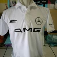 BIG SIZE 3XL-7XL...kaos kerah/polo shirt/baju MERCEDES AMG