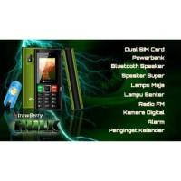 HP Handphone STRAWBERRY ST88 HULK (PowerBank 4000 mAh)