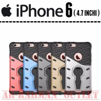 turun harga Iphone 6 4 7 INCH Casing luxury sniper 360 with stand sta