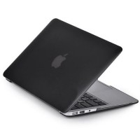 Matte Case for Macbook Air 13.3 Inch A1369 A1466 - Black