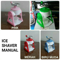 Ice shaver serutan es manual