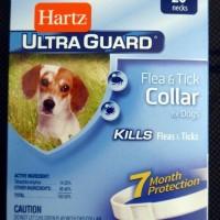Kalung anti kutu flea anjing Hartz Ultra Guard For dog White