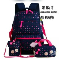 Harga pusat grosir tas ransel anak sekolah laki perempuan 3in1 btx murah | Pembandingharga.com