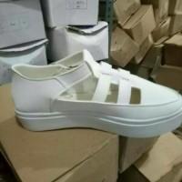 Terlaris Sepatu Sandal Wanita / Flat Shoes Lolly Putih
