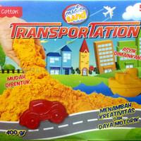 TERLARIS FUN DOH MAGIC SAND TRANSPORTATION 17090035