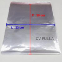 Promo Plastik OPP Ukuran 23 x 30 cm 04 mikron 500 lembar