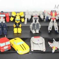 Figure Transformer Set Isi 12 Pcs - Cake Topper
